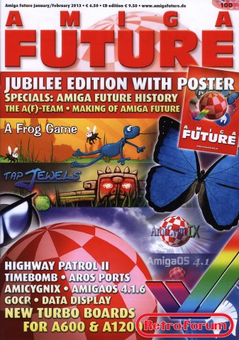 Amiga Future issue #100 Januari/Februari 2013