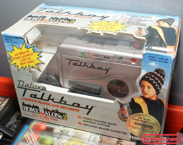 Tiger Electronics Talkboy uit Home Alone 2 - boxed
