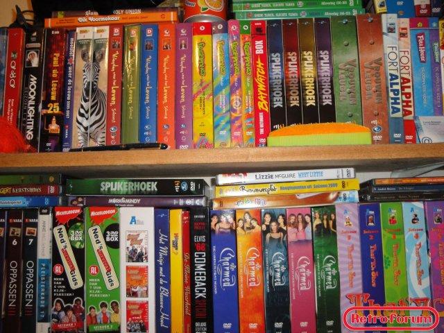 (Een klein deel van) Mijn DVD-collectie