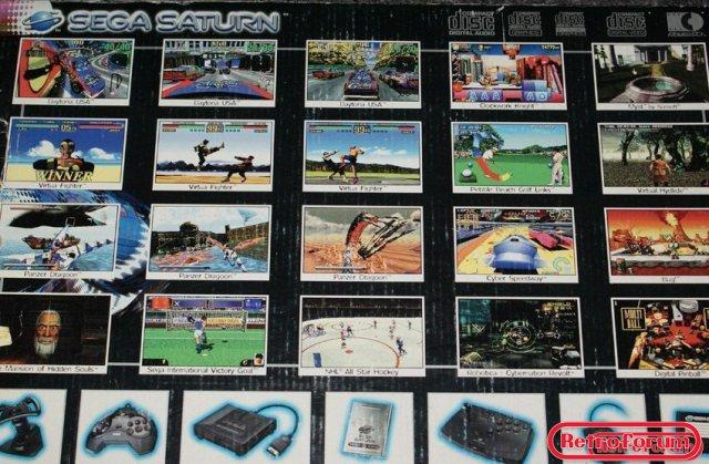 Sega Saturn box (achterkant)