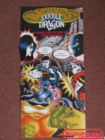 Battletoads & Double Dragon Poster SNES