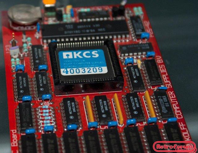 KCS Power Board voor Amiga - close-up