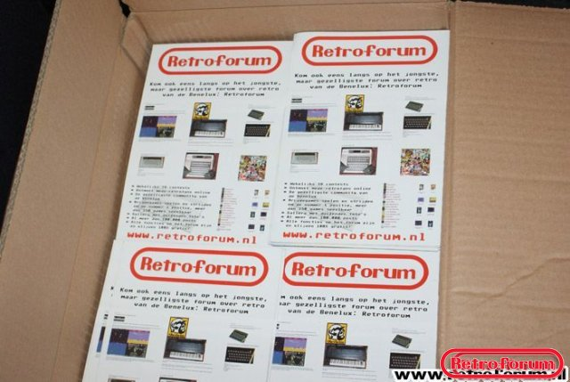 Retroforum flyers