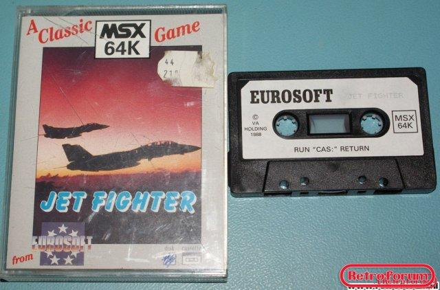 Jet Fighter voor MSX 64K