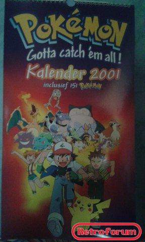 Pokémon Kalender 2001
