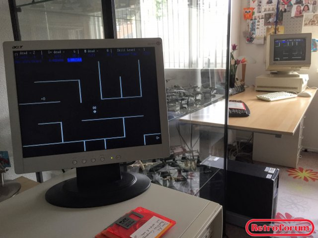 non-dedicated novell 2.2 met werkstation game